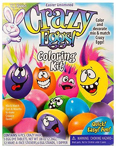 R.J. Rabbit Easter Unlimited Crazy Eggs Coloring (Easter Rabbit Eggs)