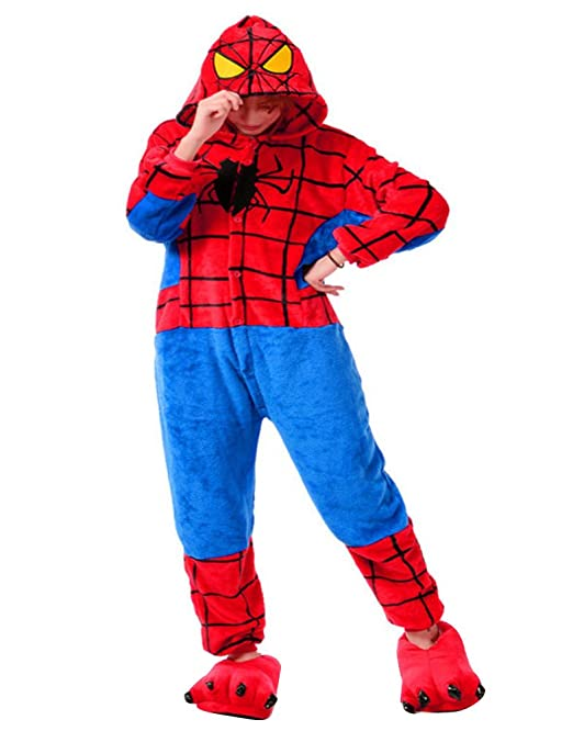 Molly Animal adulto, kigurumi pijama Anime pijamas obligada Onesie XL araña para hombre