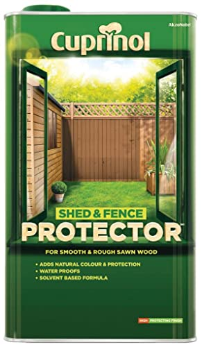 Cuprinol Shed and Fence Protector Rustic Green 5L