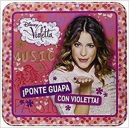Estuche Lata Violetta. ¡Ponte Guapa Con Violetta! Libros ...