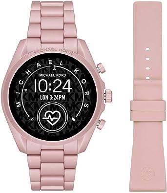 Smartwatch Michael Kors Bradshaw 2 Gen 5 Pink MKT5098: Amazon.es: Relojes
