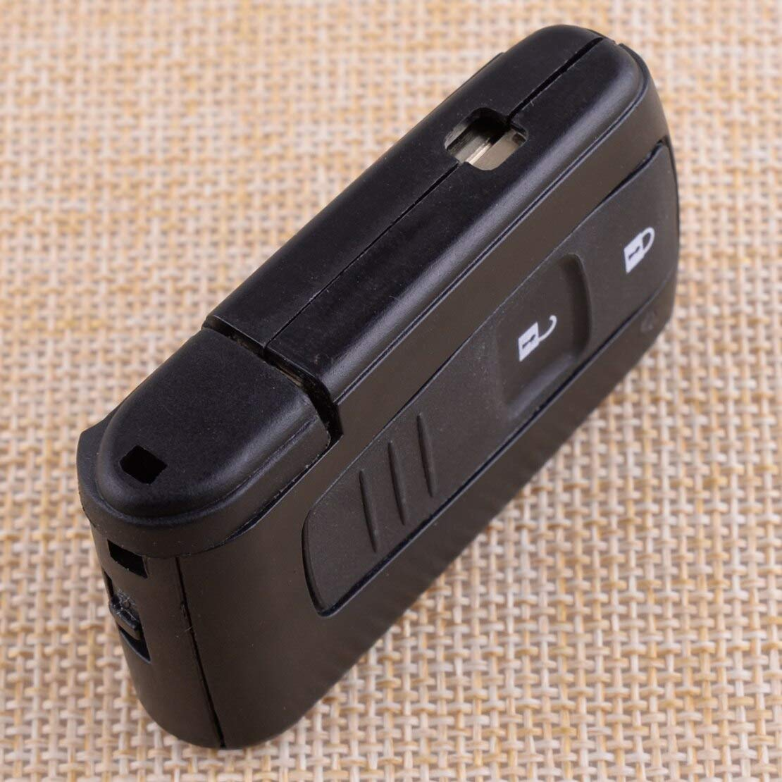HQRP Remote Uncut Key Shell FOB for Toyota Land Cruiser 2007 2008 ...