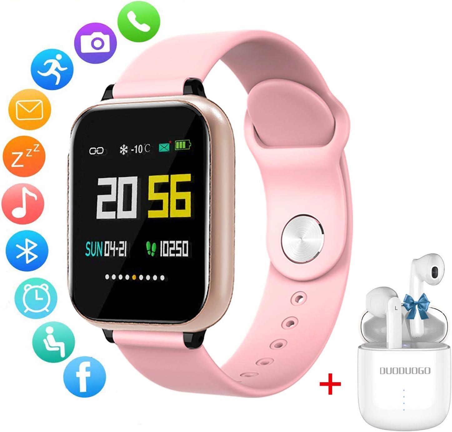 Smartwatch Reloj Inteligente Mujer Hombre Niños Pulsera, Actividad ...