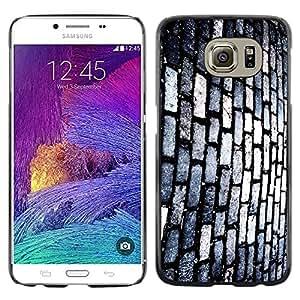 Shell-Star Arte & diseño plástico duro Fundas Cover Cubre Hard Case Cover para Samsung Galaxy S6 / SM-G920 / SM-G920A / SM-G920T / SM-G920F / SM-G920I ( Brick Street )