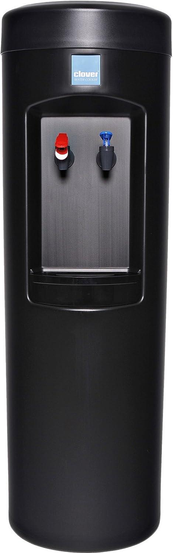 Clover D7A Water Dispenser -Hot and Cold, Bottleless With Install Kit, 2HL Filter, Filter Head -Black