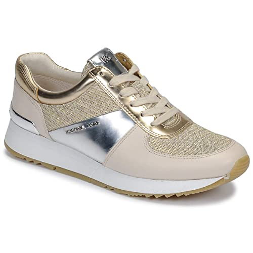 94e272a653a23 Michael MICHAEL KORS Allie Trainer Sneaker Damen Champagne Gold - 35 - Sneaker  Low
