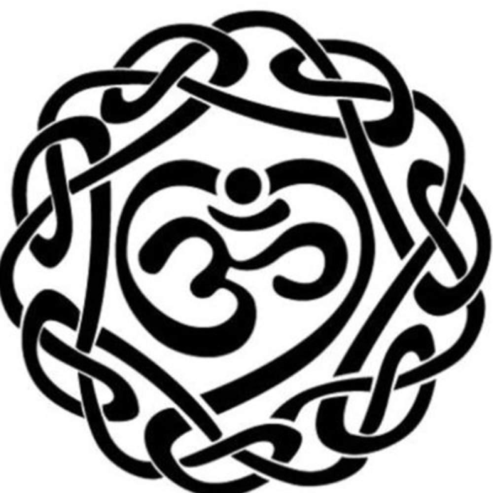 guijiumai Dctal Buddha Quotes Namaste Tatuajes de Pared Yoga ...