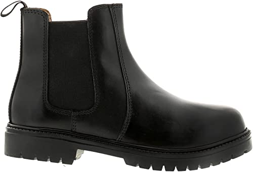 Rockstorm Aiden Infant Boys Leather Material Boots Black