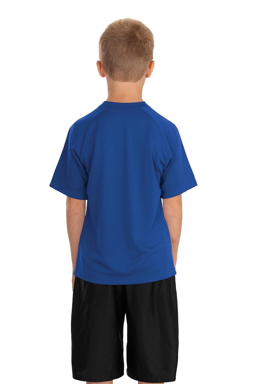 Sport-Tek Boys Dry Zone Raglan T Shirt
