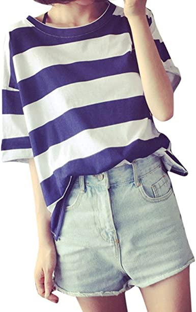 Amlaiworld Camisas Rayas Mujer, Camisa Casual de Mujer con