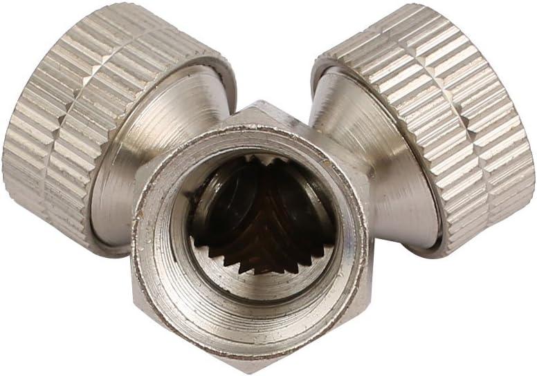 sourcing map M14 in acciaio inox a 2 Testina spruzzatore a spruzzo ugello di appannamento per irrigazione