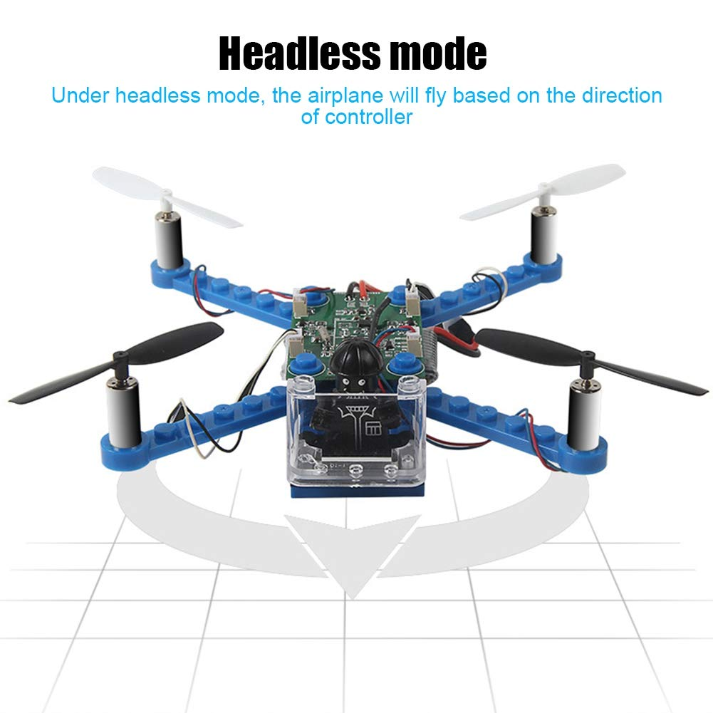 Juguete RC Quadcopter, 2.4G 6 Ejes Gyro Mini DIY Montaje de ...
