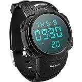 Digital Sports Watch, LED Screen Waterproof...