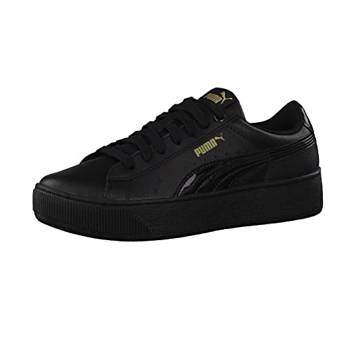 23ea99cc416 Puma Women s Vikky Platform Leather Sneaker  Amazon.co.uk  Shoes   Bags