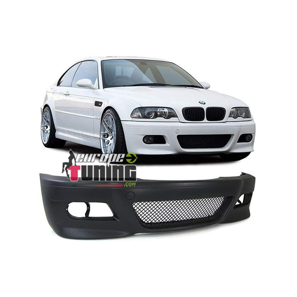europetuning - 03872 - PARE CHOC AVANT LOOK M3 POUR SERIE 3 TYPE E46 PHASE 1