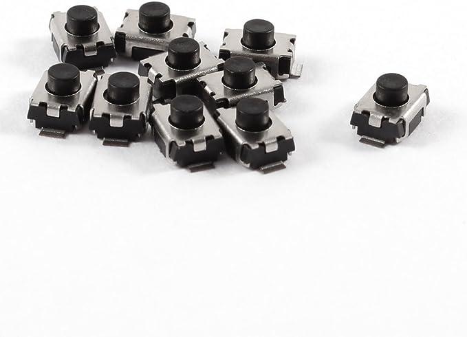 10 Pcs 3 X 4 X 2 5 Mm 2 Pins Momentary Push Button Smd Smt Taktile Tact Switch De Baumarkt