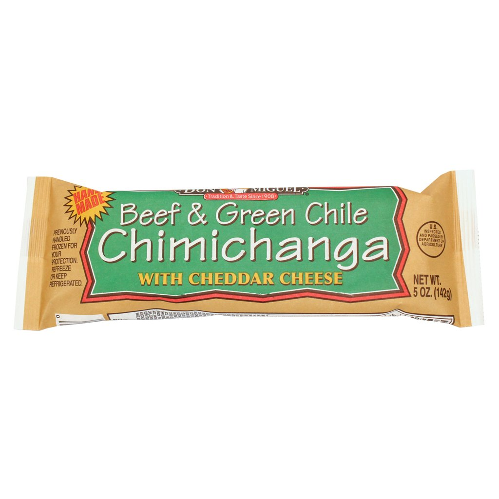 Don Miguel, Individually Wrapped Beef and Cheese Chimichanga, 5 oz., (12 count)