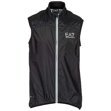 Emporio Armani EA7 gilet sans manches homme noir EU M (UK M)  3ZPQ11PNG7Z1200  Amazon.fr  Vêtements et accessoires f006921b468