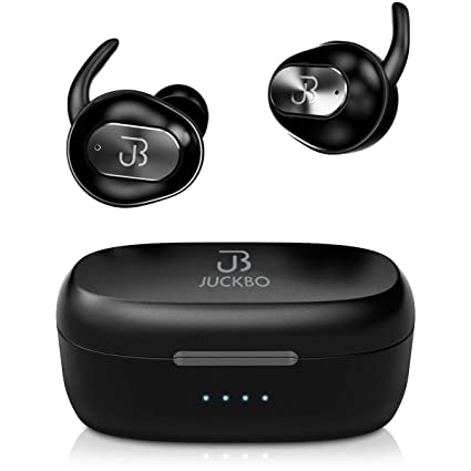 205bb596239 Wireless Earbuds,Bluetooth Headphones 5.0 Deep Bass HiFi Stereo Sound  Earphones 16H Playtime with Charging
