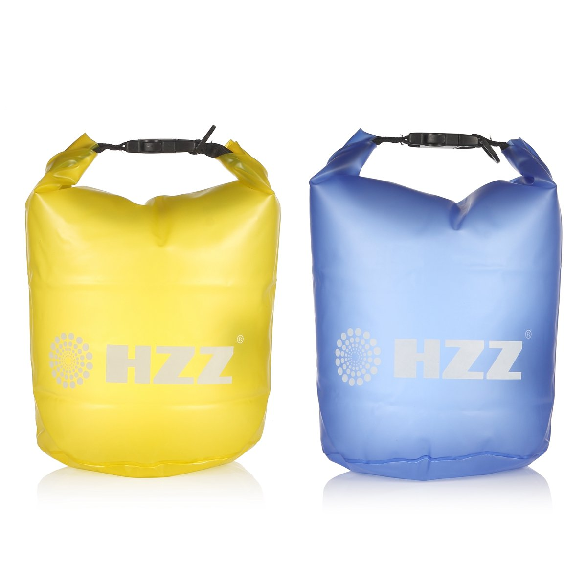 【当店一番人気】 HZZ ® 2 - ® Pack半透明防水ドライ袋バッグforボートカヤック釣りラフティング水泳フローティング 20L B00LTKV73Y ブルーとイエロー 20L 2 20L|ブルーとイエロー, 平戸市:0a7faf35 --- mcrisartesanato.com.br