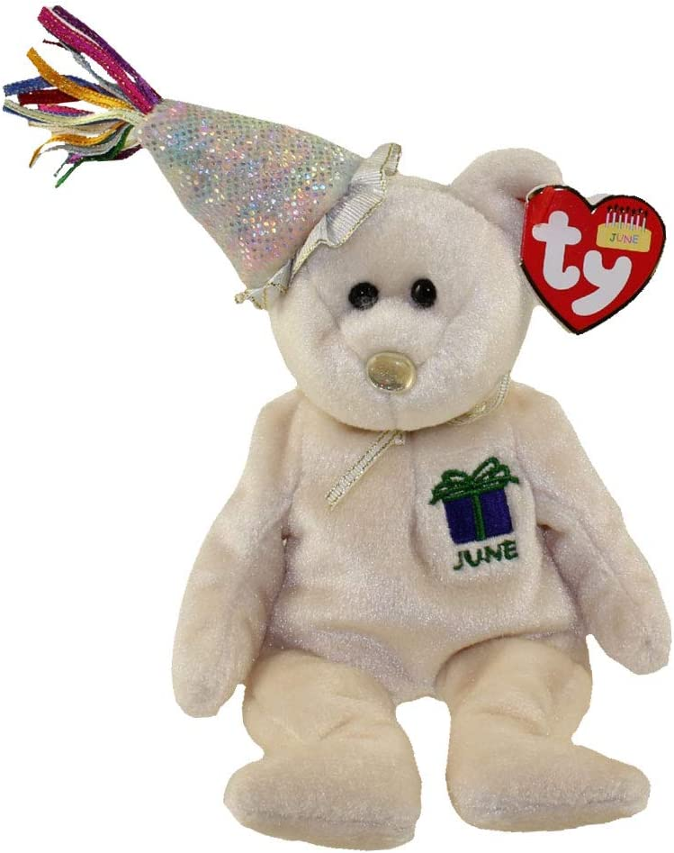 """Birthday Beanie Collection Ty Beanie Baby /""""September/"""" w//Party Hat BRAND New!"""