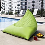 Jaxx Twist Outdoor Bean Bag Chair, Lime