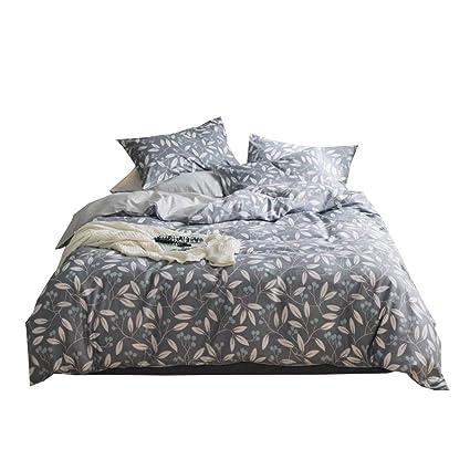 Amazoncom Enjoybridal Teens Boys Bedding Sets Cotton Grey Twin