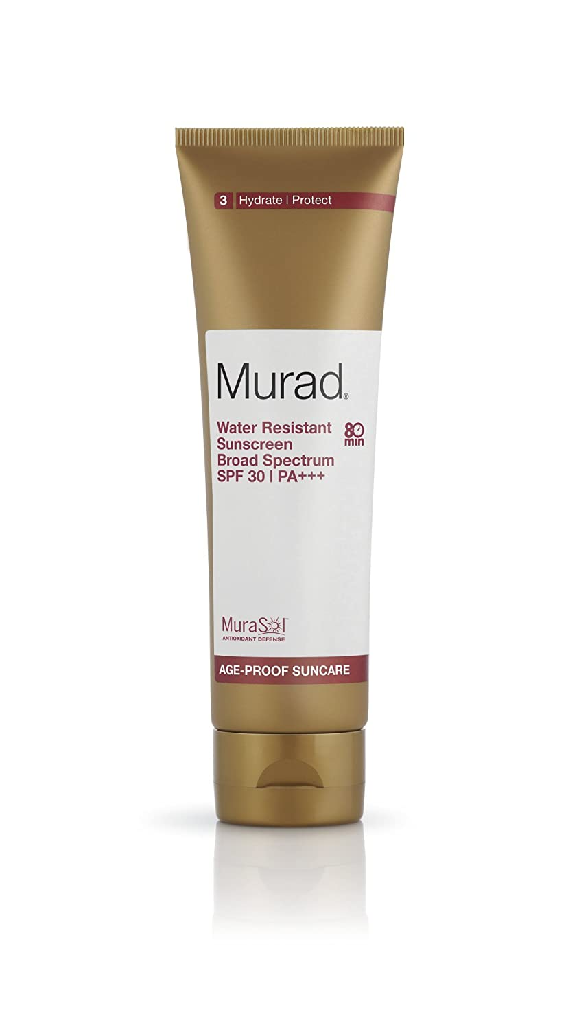 Murad Water Resistant Sunscreen Broad Sprectrum SPF 30 PA+++, 4.3 Fluid Ounce 80304