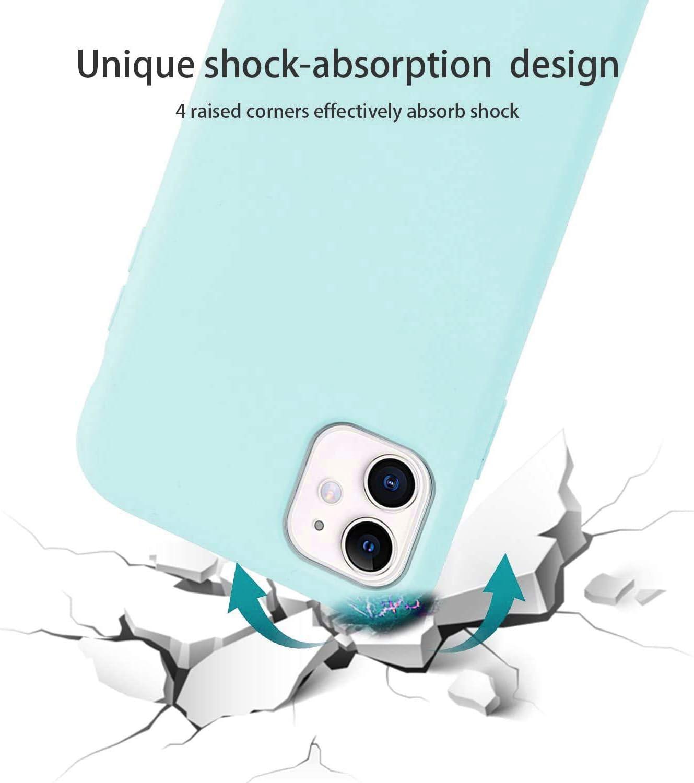 Suhctup Compatible con iPhone 11 Funda con Cuerda Carcasa de Silicona l/íquida con Correa Colgante Ajustable Collar Anti-Choque Anti-rasgu/ños Ultrafina Suave TPU Caso-Azul Oscuro