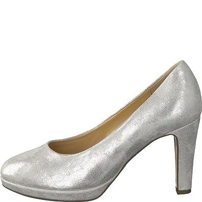 Gabor Damen Pumps 81.270.61 Silber 444554: : Schuhe