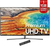 Samsung 65″ 4K Ultra HD Smart LED TV 2017 Model (UN65MU9000) with 1