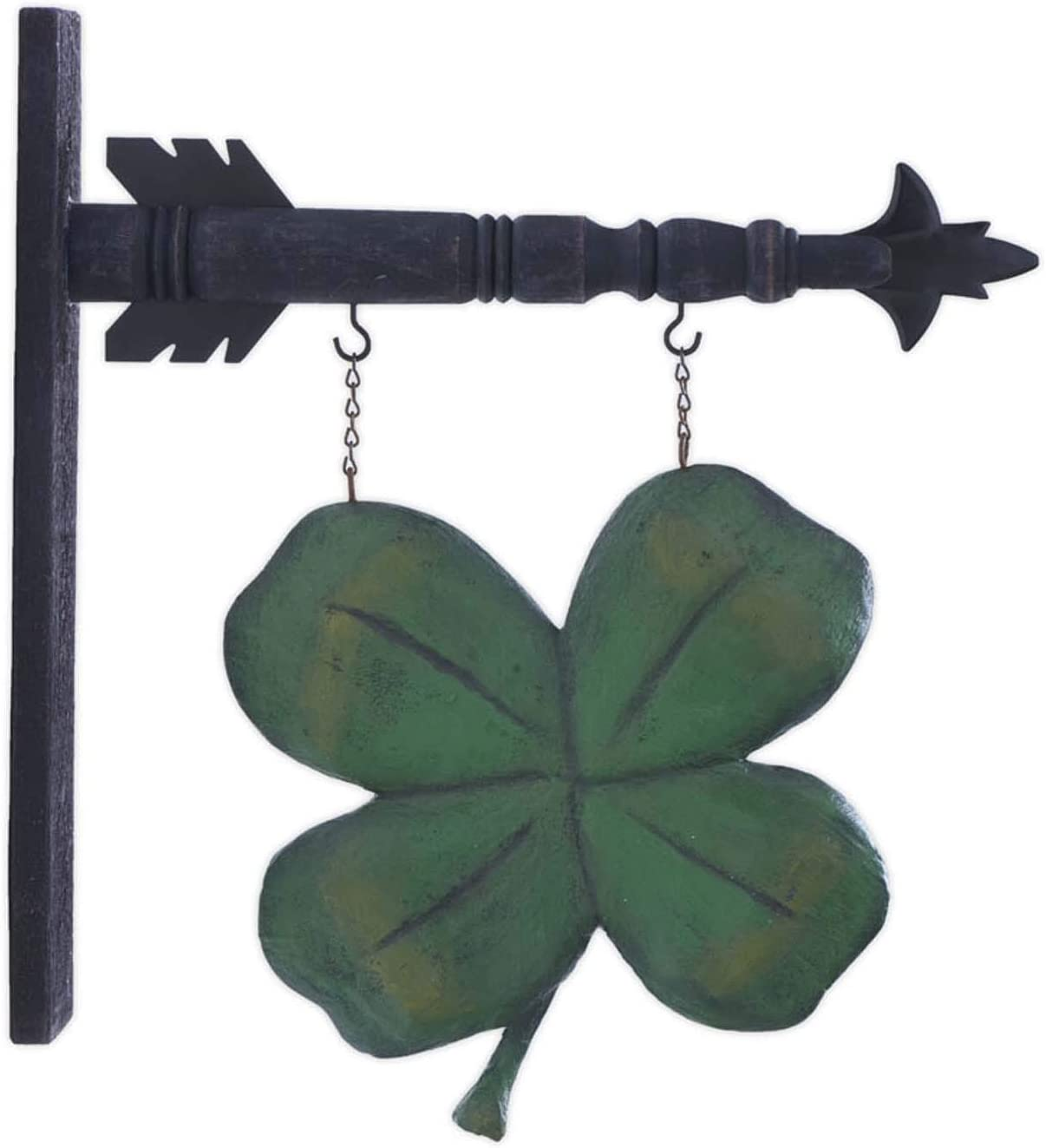 4-LEAF CLOVER-Replacement Sign by K /& K Interiors Resin Sign for Arrow Holders