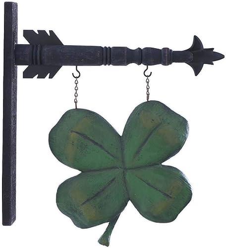 K K Interiors Arrow Replacement Decorative Hanging Sign, Green