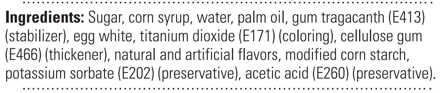 Satin Fine Foods Ice Gum Paste, 2 Pound (White)