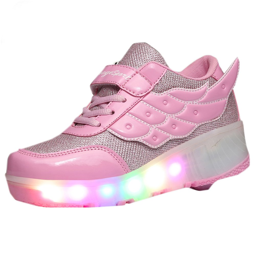 Amazoncom Cps Kids Adults Led Light Up Sneakers Wing Single Wheels