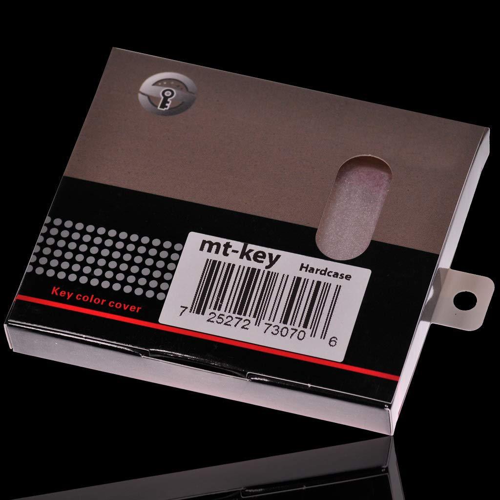 Cache-clefs de Voiture Coque Rigide Verrouillage sans cl/é de Voiture de Cas Couverture Blanche Hard Shell pour SmartKey 5er BMW i8 G30 G31 G11 7er