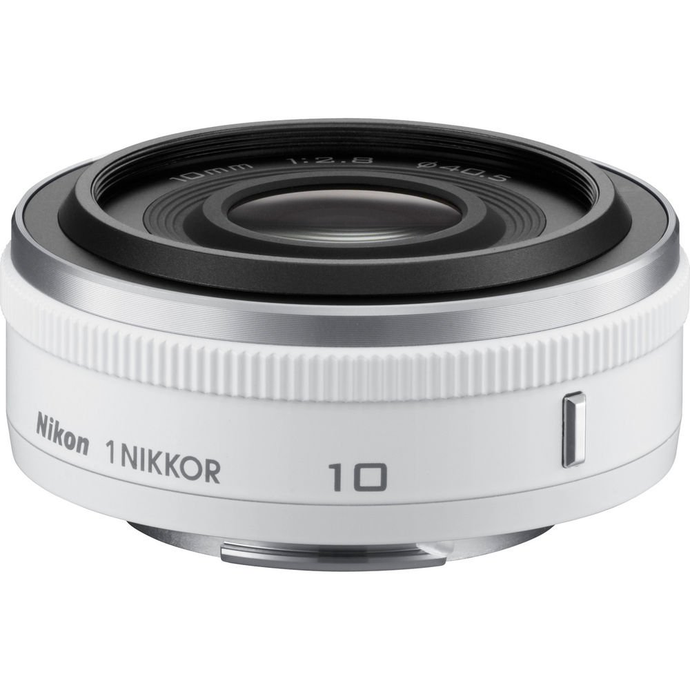 Nikon 1 NIKKOR 10 mm f / 2.8 (ホワイト) (認定Refurbished)   B019WQ91VQ