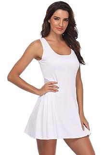 1e57db883df34 Amazon.com: adidas Performance Womens Climacool Badminton Dress - L ...