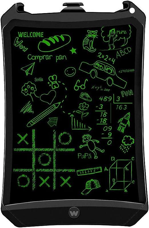 Woxter Smart Pad 90 Black Elektronische Tafel Lcd Bildschirm Löschbaren 9 Farbton Grün Drucksensor 10 200g