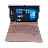 "2018 Vipa A7 Thin & Light 14"" HD Laptop, Intel Atom Z8350 up to 1.92GHz, 4GB RAM, 64GB eMMC Flash Storage, USB 3.0, USB 2.0, Bluetooth, Webcam, Windows 10 PC (Rose Gold)"
