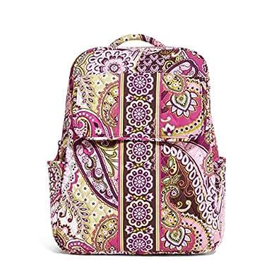 Vera Bradley Backpack Very Berry Paisley Updated Version