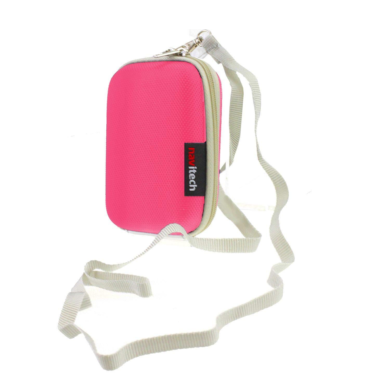 Navitech Black Water Resistant Hard Digital Dash Camera Case Cover Compatible With The Garmin Dashcam 66W
