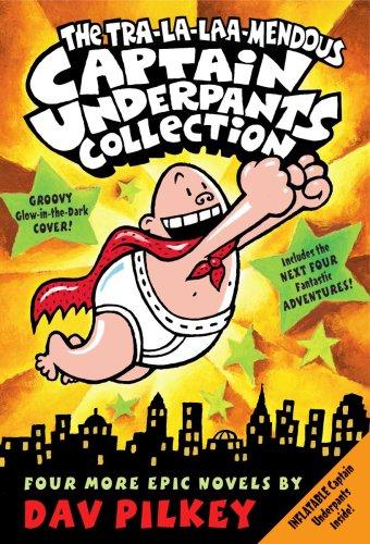 The Tra-la-laaa-mendous Captain Underpants Collection (Books 5-8)