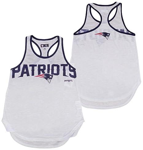 a0e3b0bb8b3164 G-III 4her by Carl Banks New England Patriots Women s White Break the Game  Racerback