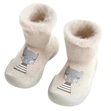 18a60ecfd3d Amazon.com  Kids Anti-Slip Slipper Floor Socks