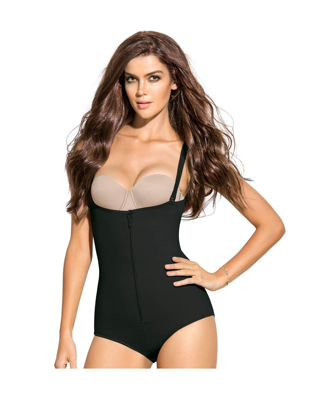 7cef4a5681288 Galleon - Leonisa Women's Slimming Braless Body Shaper In Classic Panty,  Black, XXX-Large