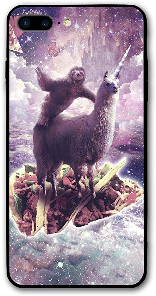 Funny Space Sloth With Pizza iPhone 11 case