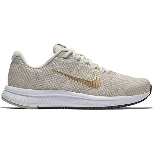 971f2787abdfd2 Nike Women s WMNS RUNALLDAY Phntm MTLC Gold-Wht Running Shoes-5 UK