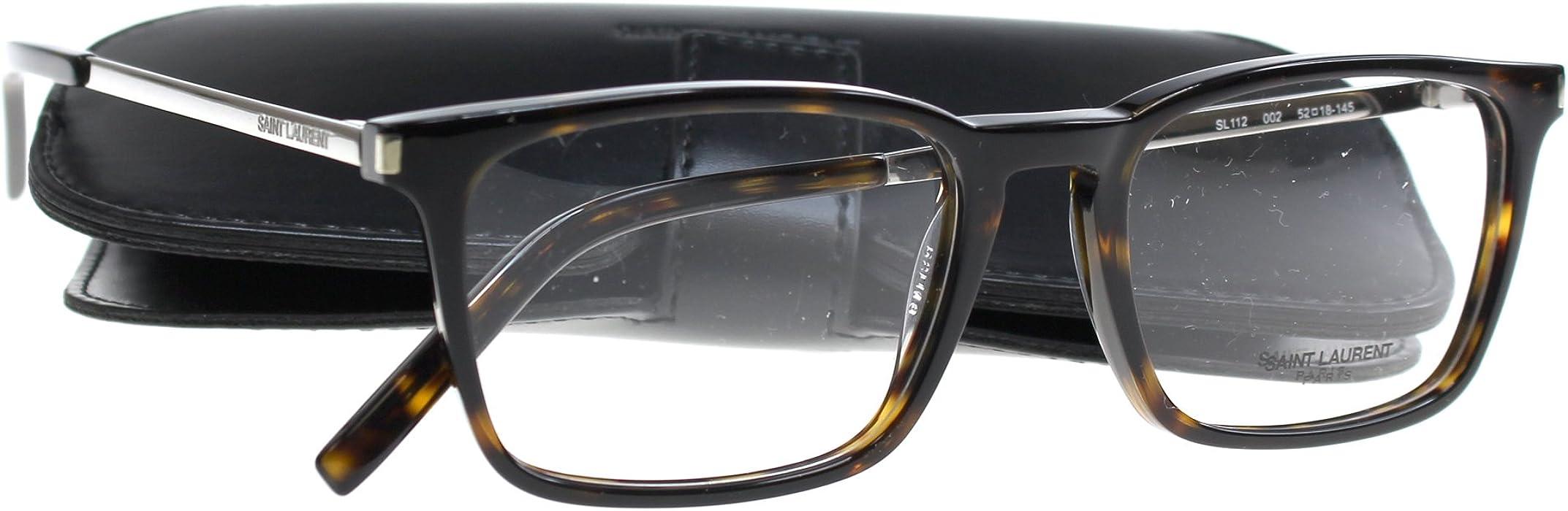 d7dd026f175 New SAINT LAURENT Eyeglasses Women SL 112 Brown 2 SL112 52mm at ...