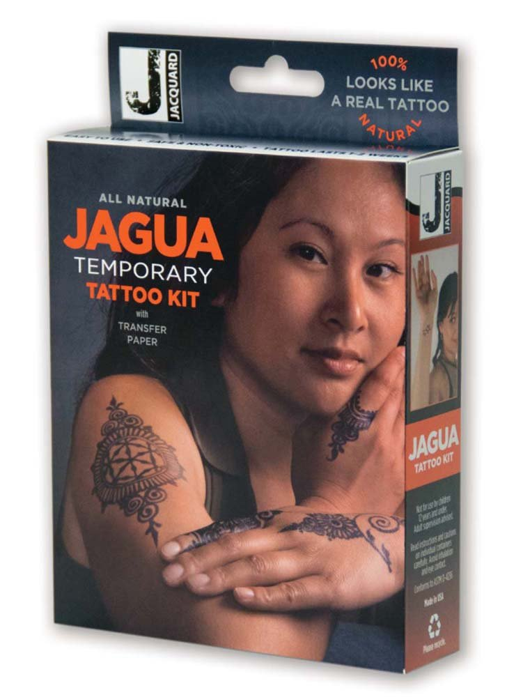 Jacquard Jagua Temporary with Transfer Paper Tattoo Kit (8 Piece) by Jacquard (Image #1)